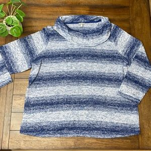 NWOT T by Talbots Cowl Neck Sweater